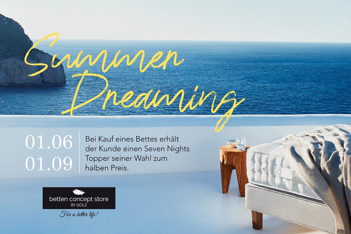Banner Summer Dreaming